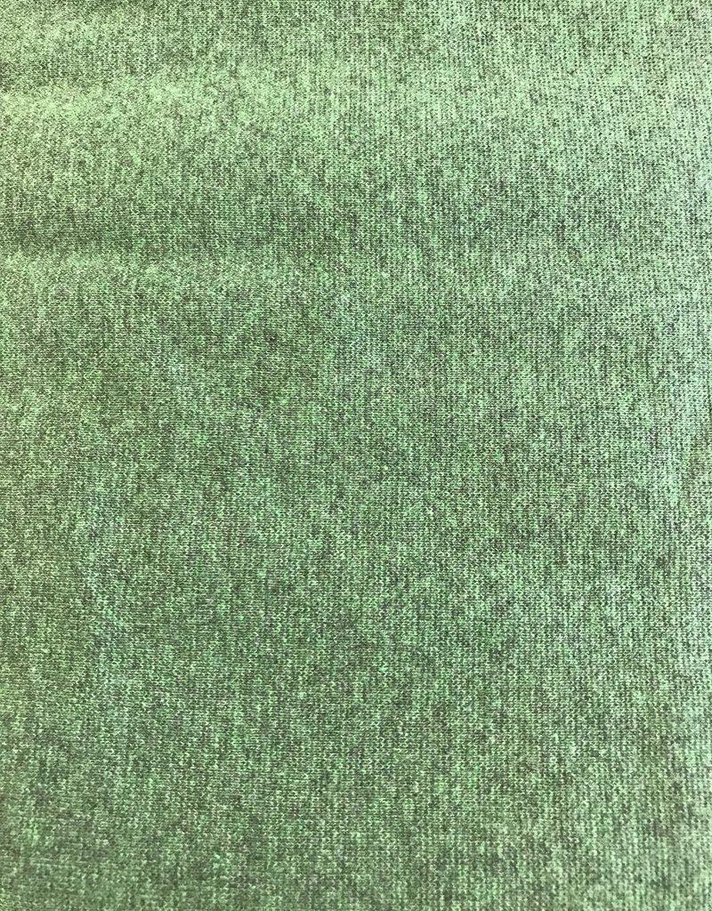Boordstof groen gemeleerd