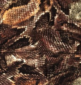 Vicose crepe snakeskin