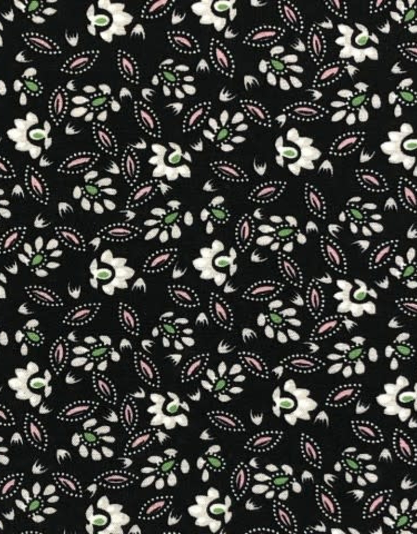 Viscose print small flowers