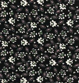 Viscose print small flowers