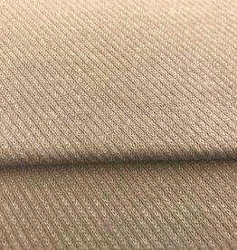 Lichtgrijze sweaterstof