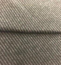 Donkergrijze sweaterstof