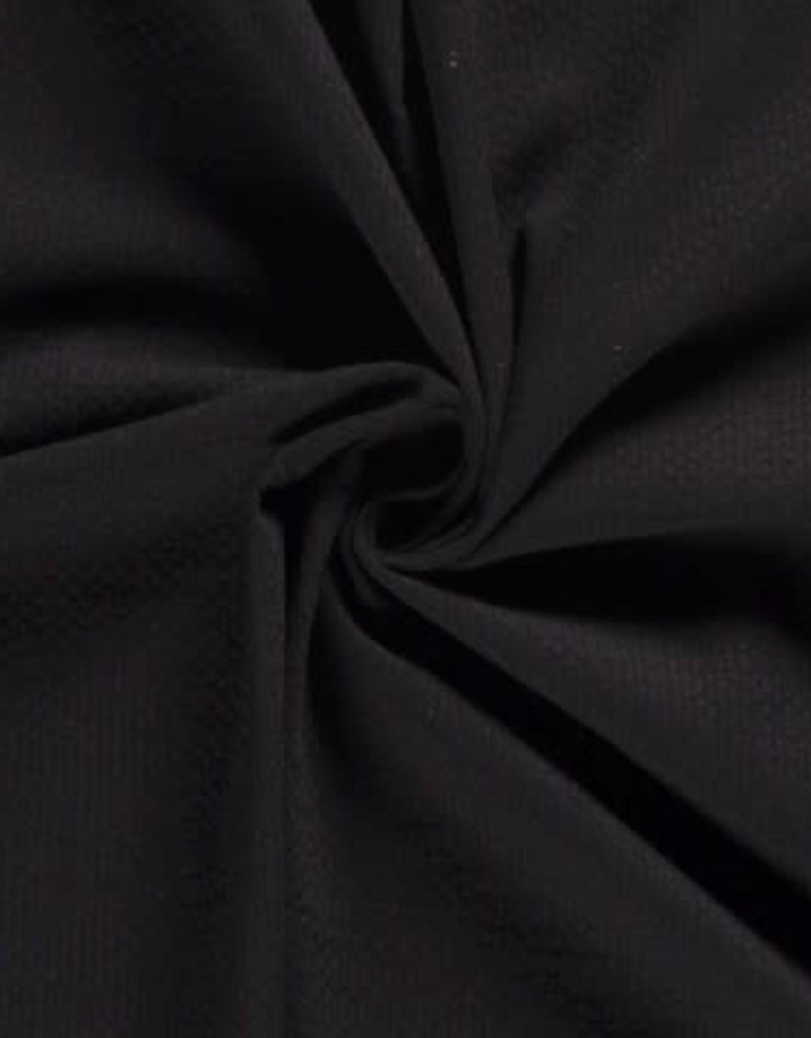 Doublegauze zwart