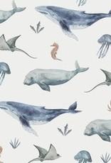 Family Fabrics Deap sea life