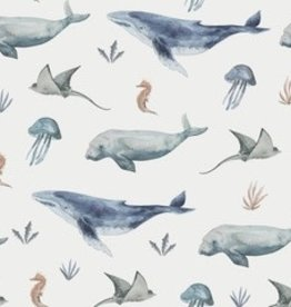 Family Fabrics Deep sea life