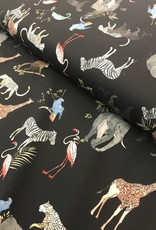 Wilde dierenprint