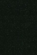Vicose tricot zwart met glitter