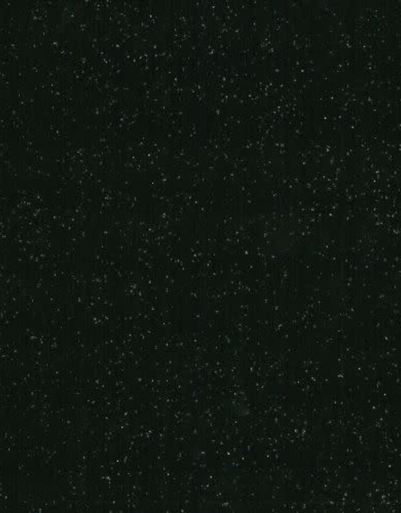 Viscose tricot zwart met glitter