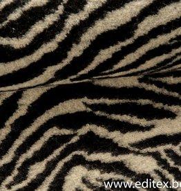 Gebreide jacquard met zebra motief