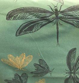 Hilco Tricot groen met libellen