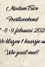 Feestweekend 7-9/2/2020
