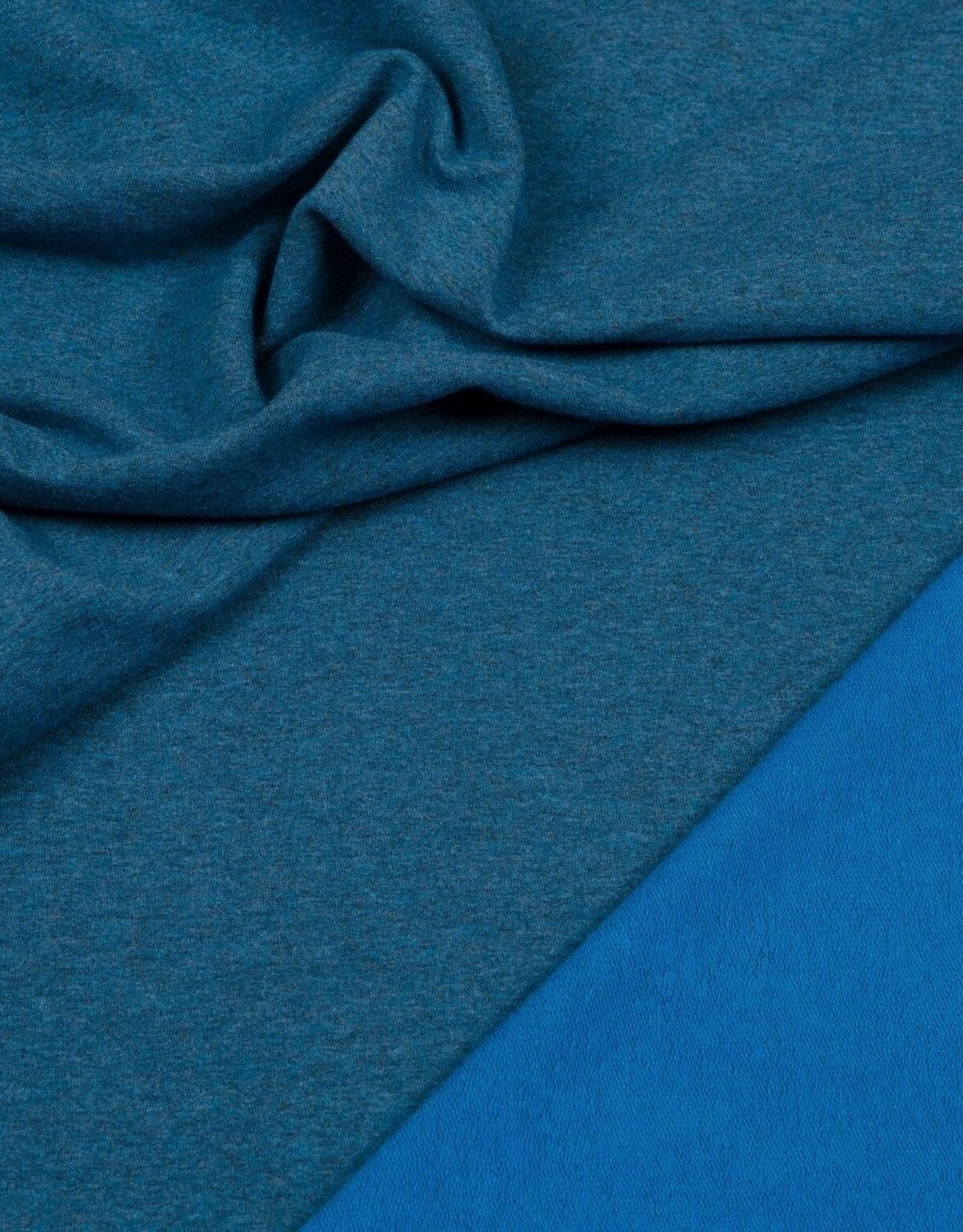Hilco Boordstof blauw gemeleerd