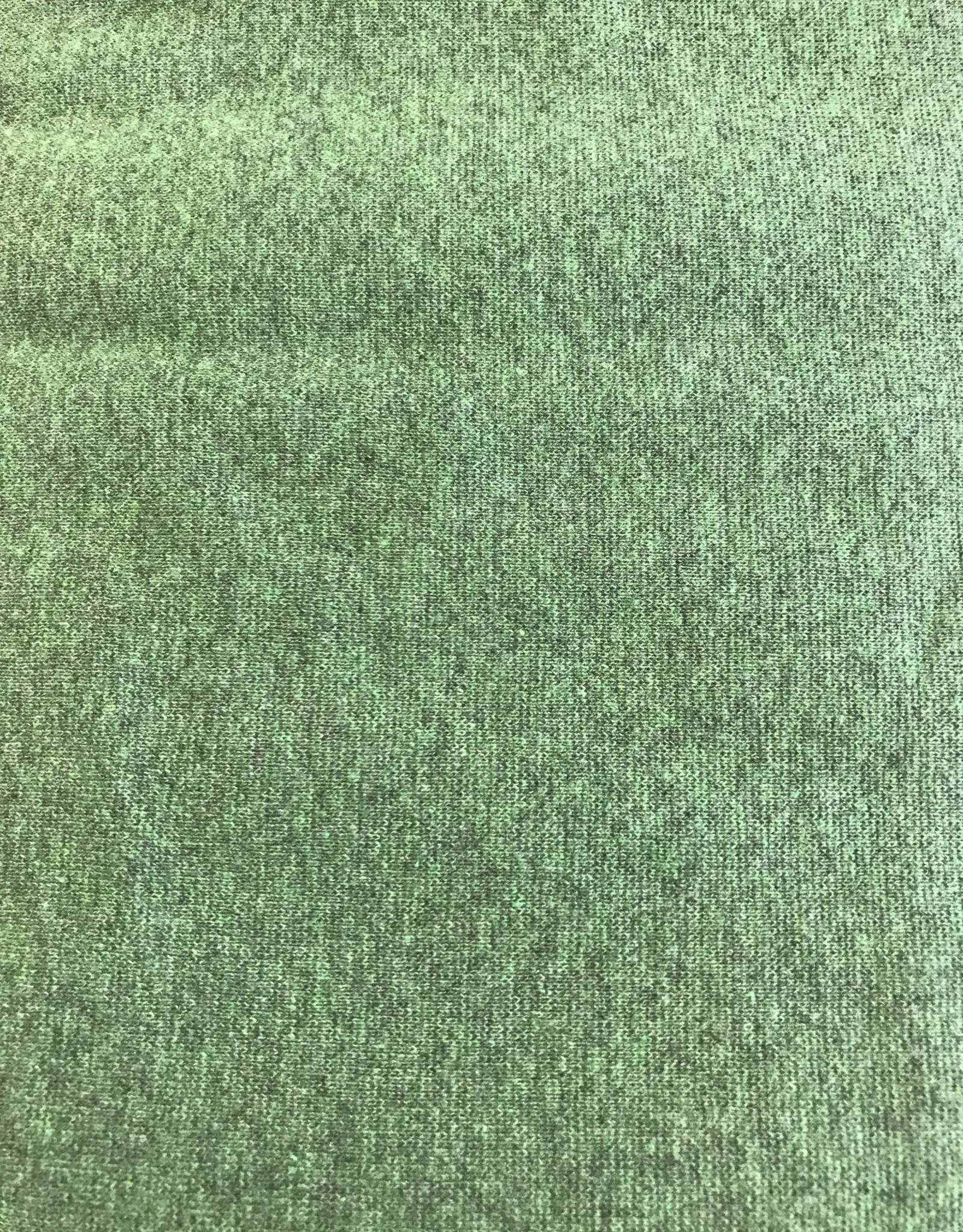 Hilco Sweaterstof groen gemeleerd