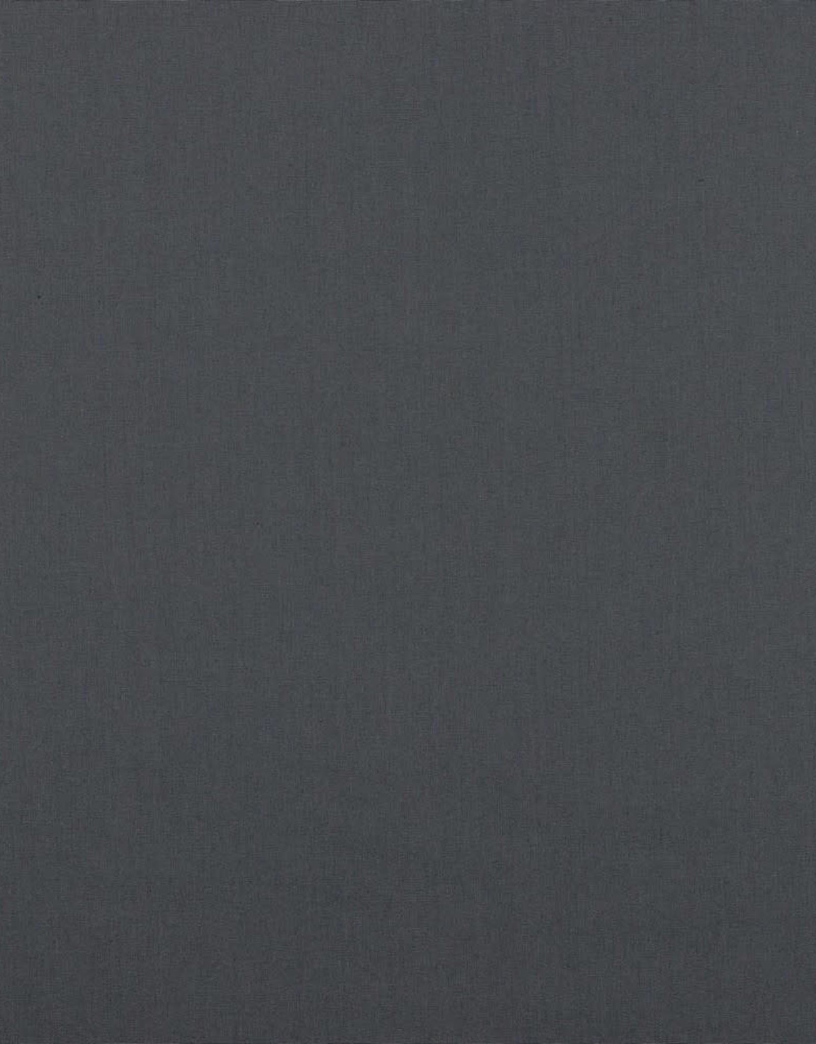 Effen katoen dark grey