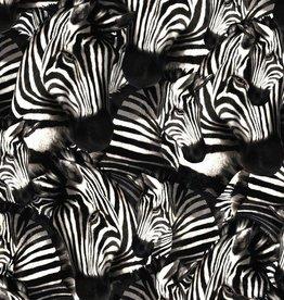 Zebra royal satin