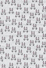 Beautiful bunnies grijs