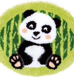 Knoopvormtapijt panda
