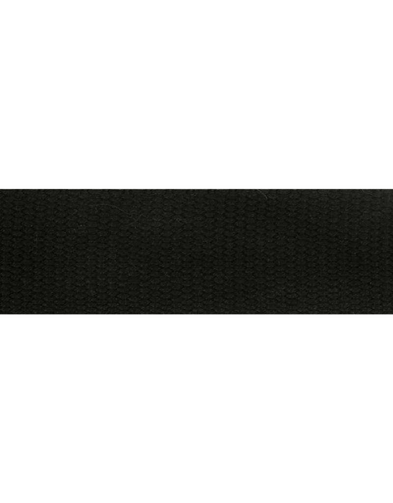 tassenband zwart 32mm kl 000