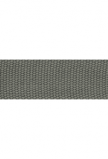 Tassenband donkergrijs 38mm