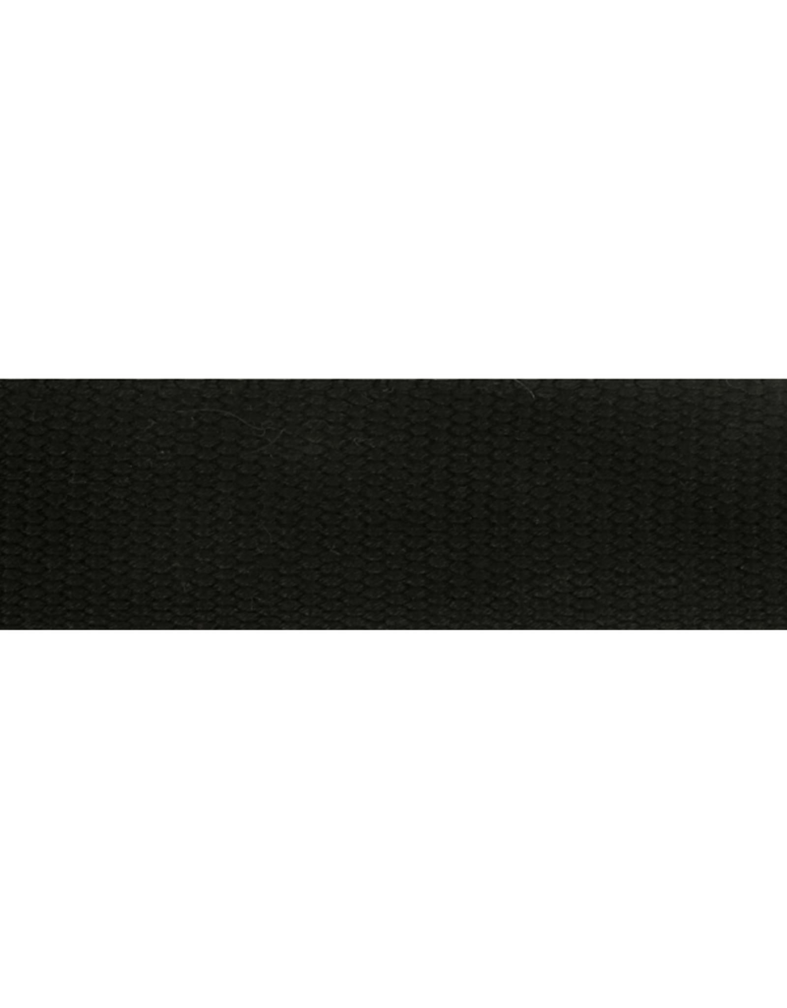 Rassenband zwart 38mm