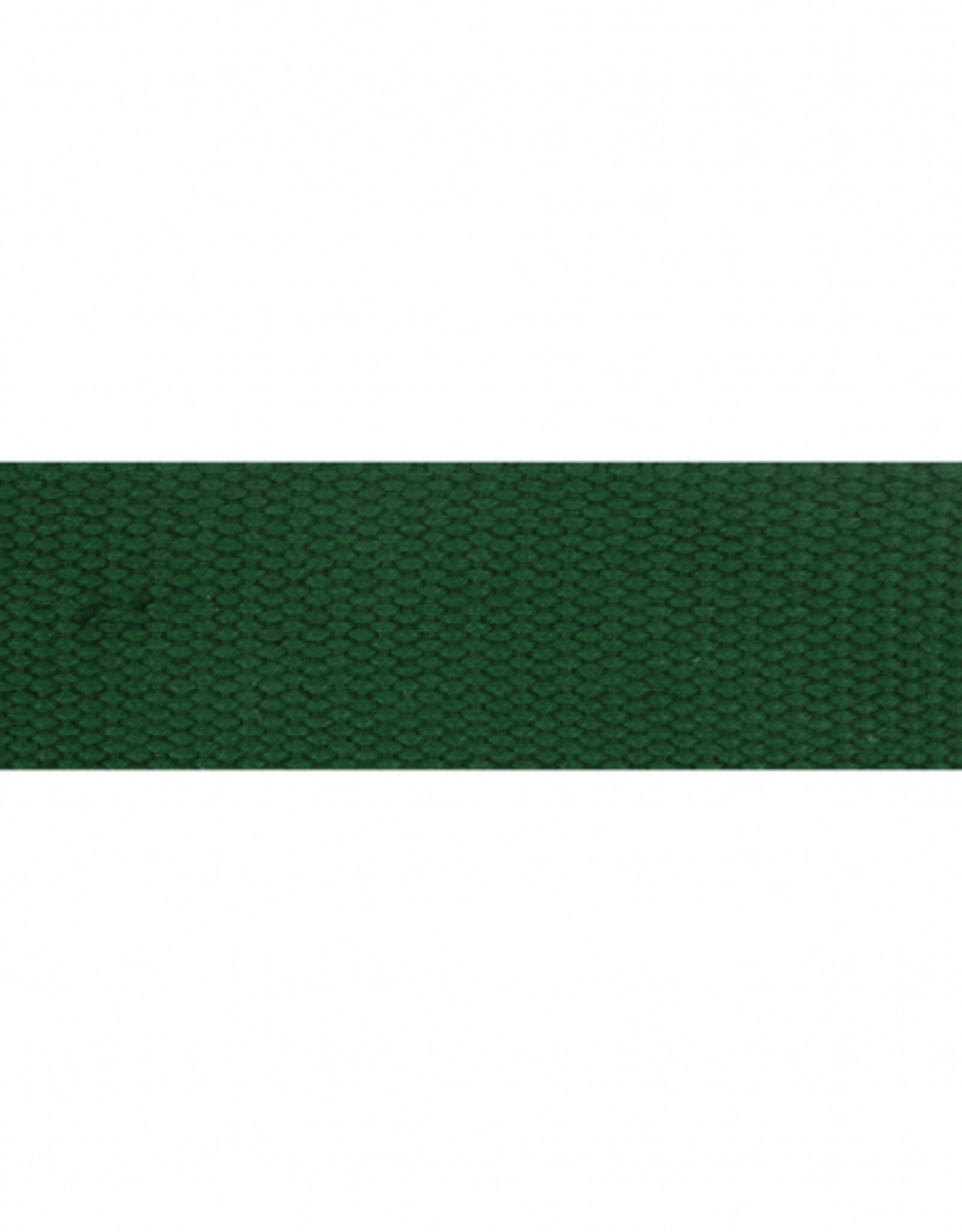 Tassenband donkergroen 38mm