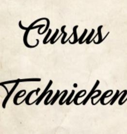 Cursus technieken vanaf 14 februari