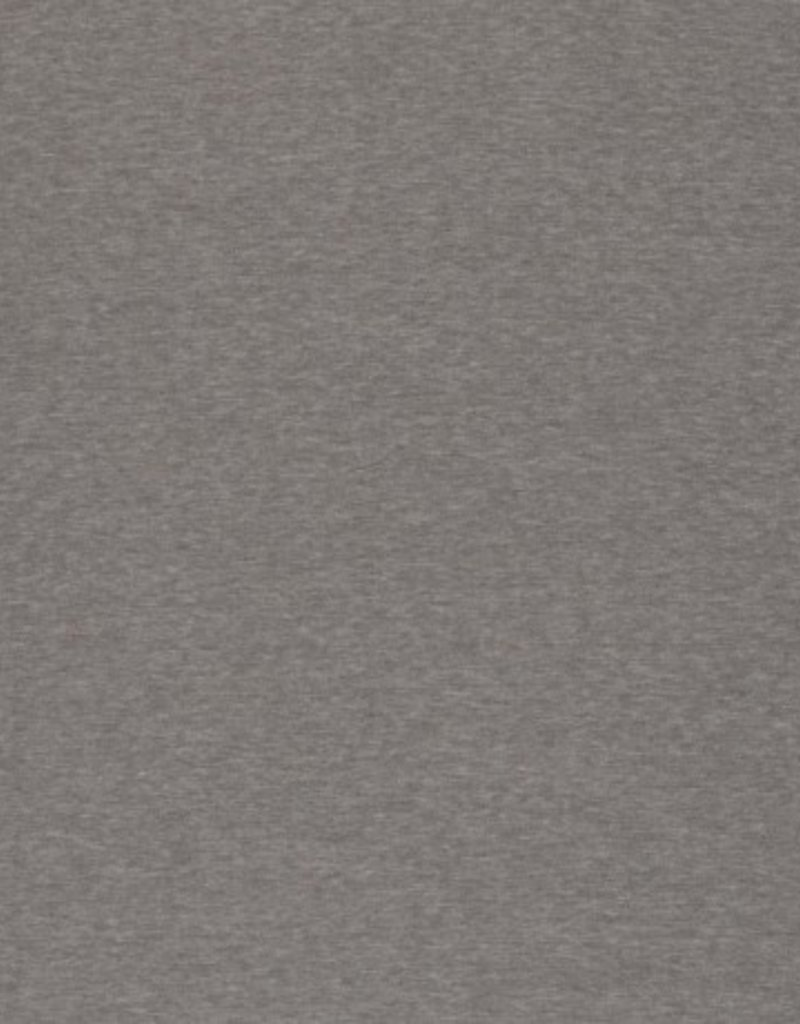 Alpen fleece effen grijs