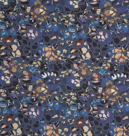 Camouflage bloemen paars