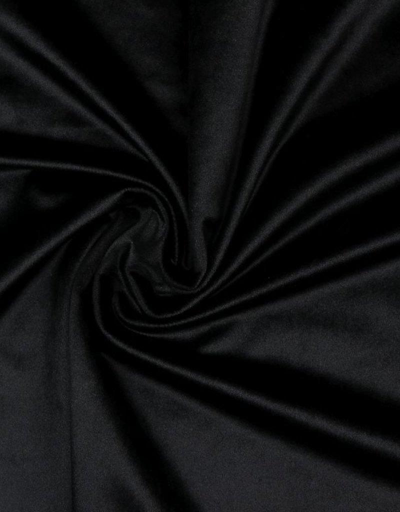 Fluweel zwart