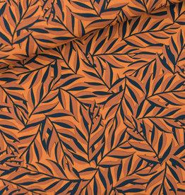 SYAS Leaves viscose boksvelgeel