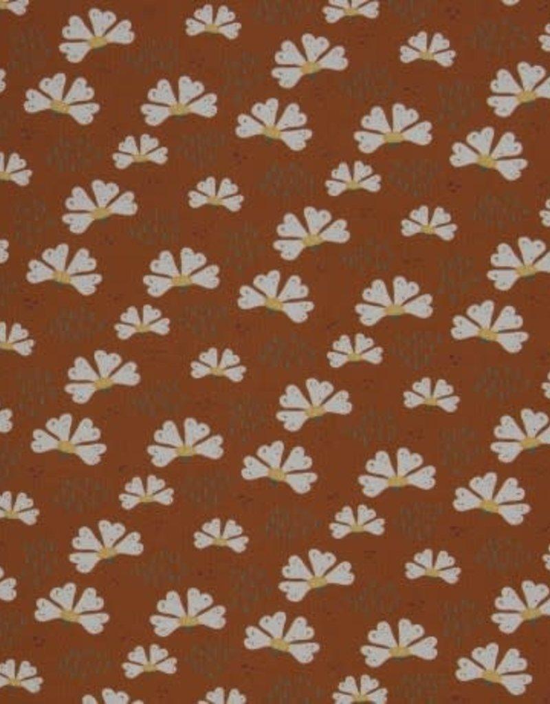 Flowers terracotta