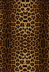 Micro jersey luipaardprint