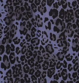 Denim print luipaard