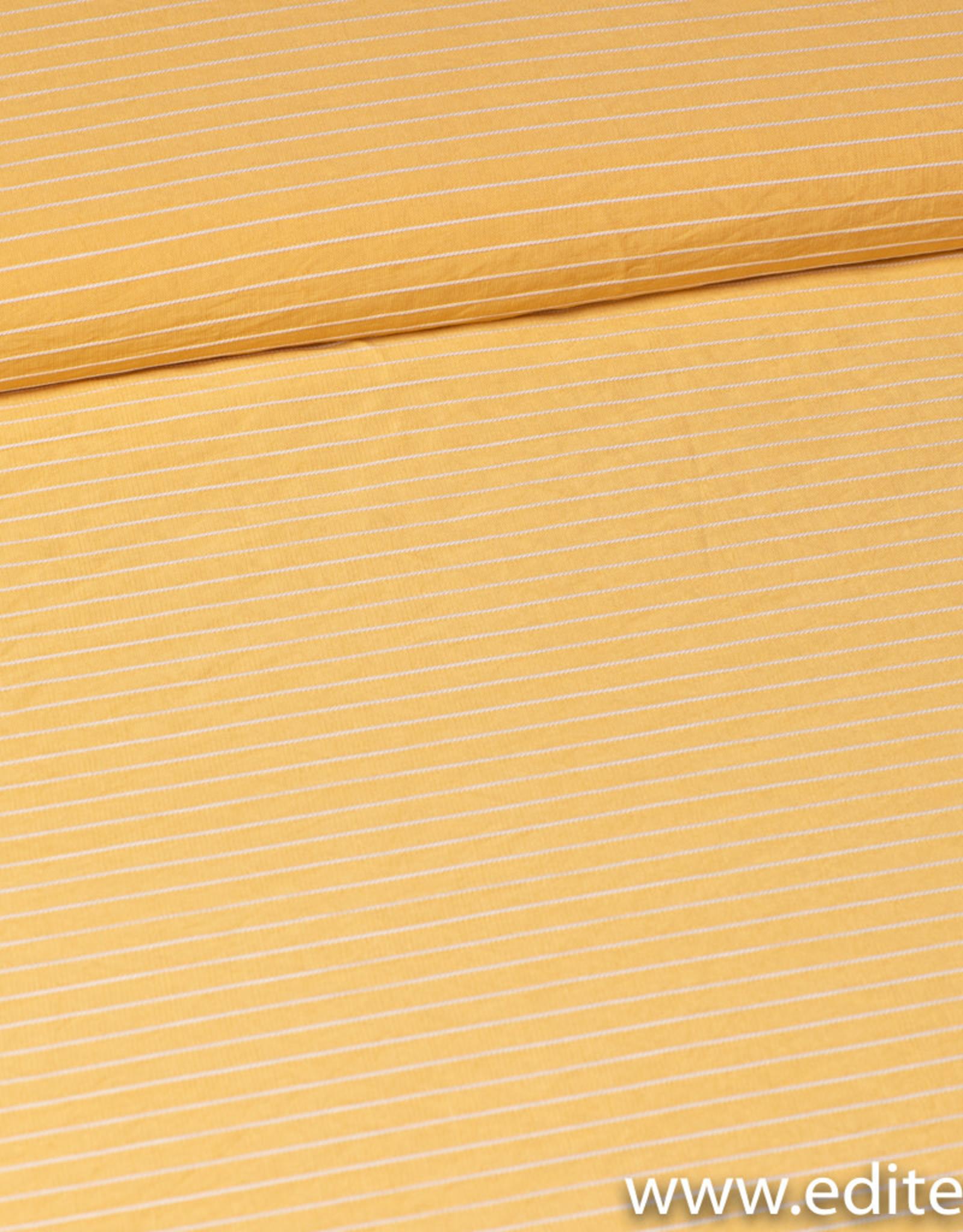 FM  geel met wit streepje