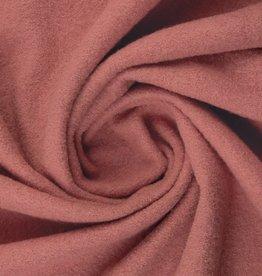 Gekookte wol oud roze