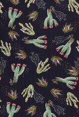Katoenviscose cactussen