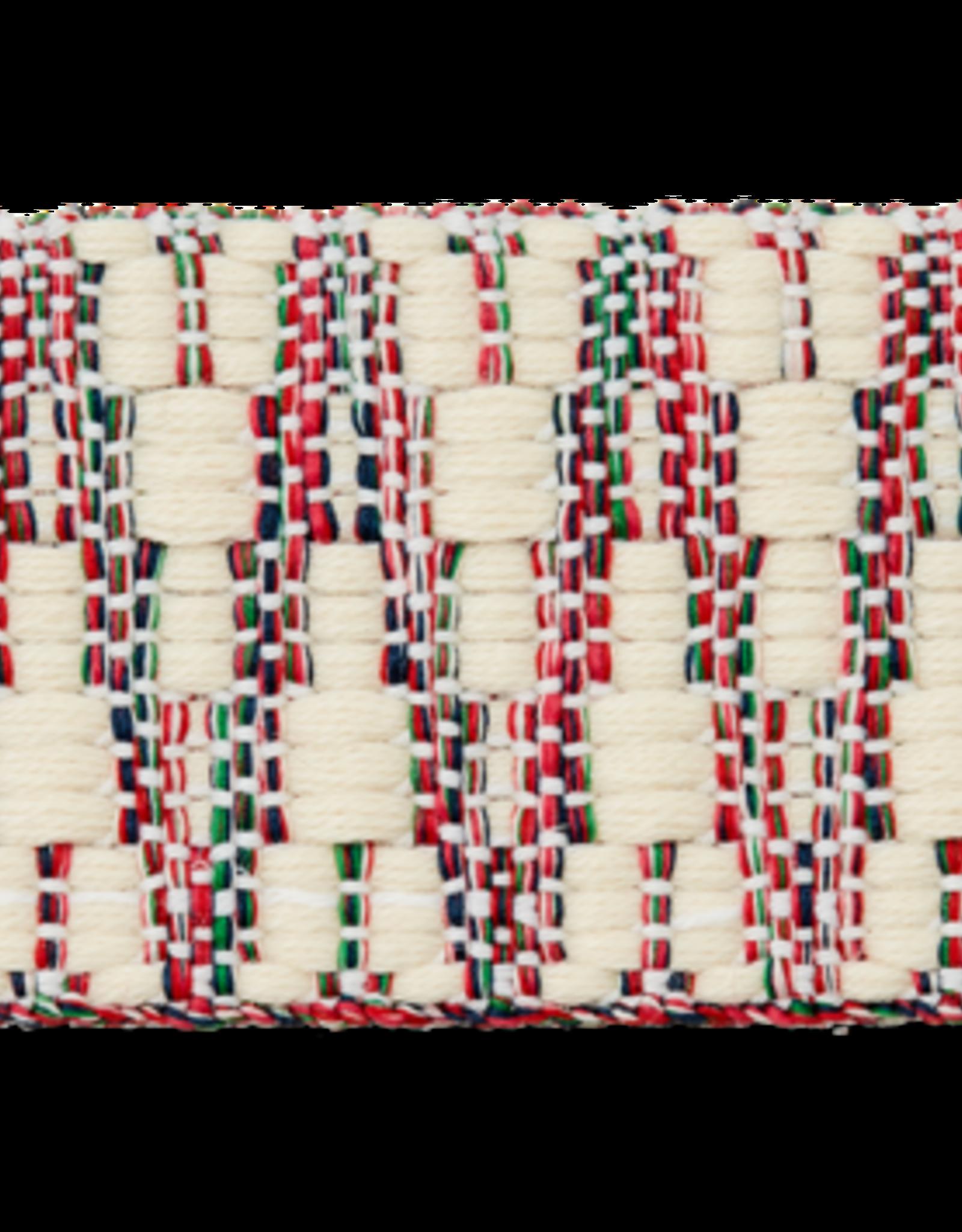 Tassenband wit gekleurd