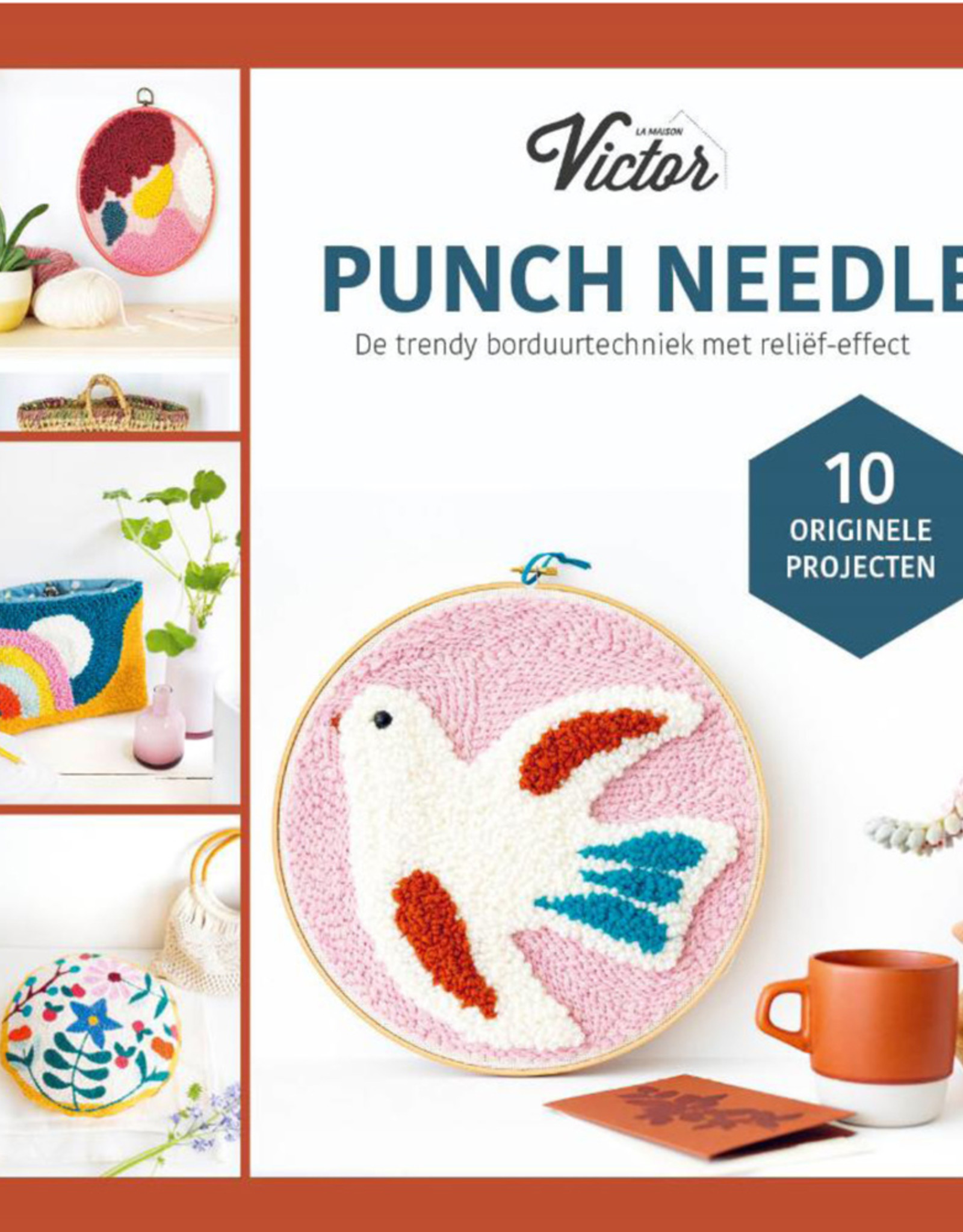 Bookzine punch needle