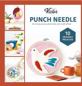 Bookzine punch needle