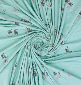 Flamingo's mint zilver