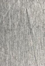 Bamboe tricot grijs gemeleerd