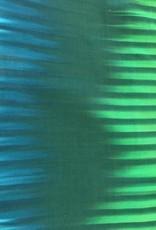 Tie dye strepen groen blauw