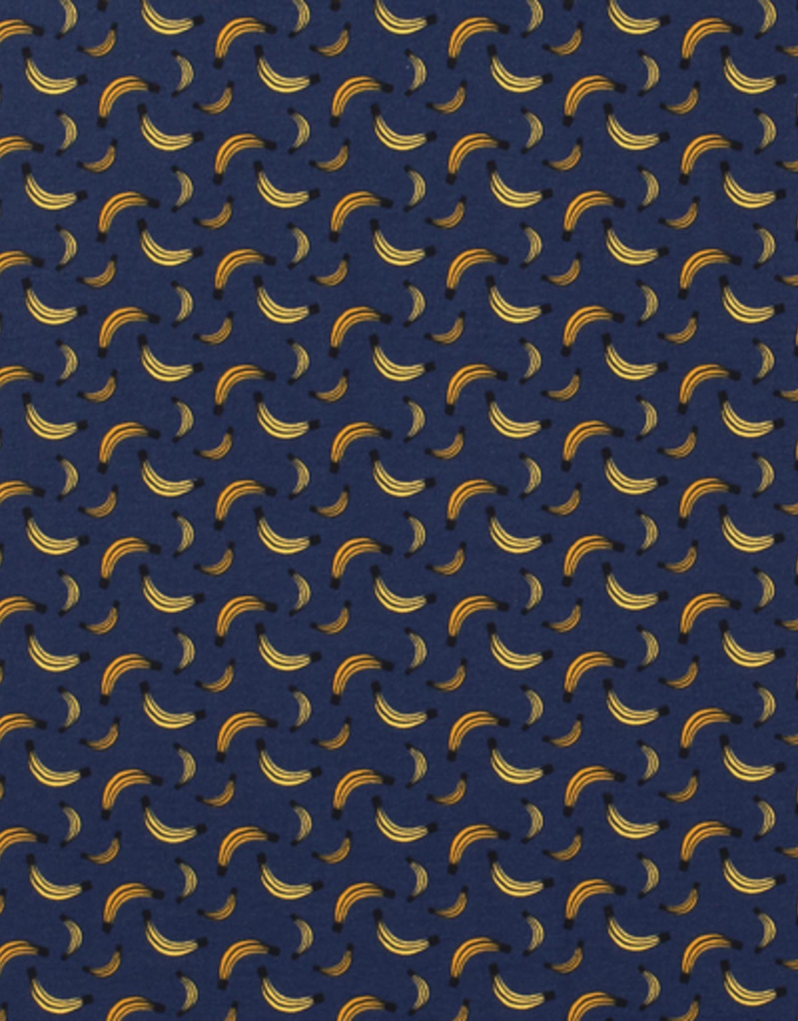 Tricot banaantjes blauw