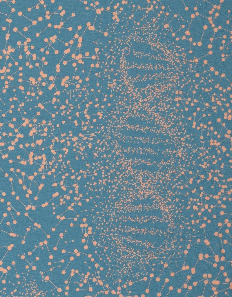 DNA blauw zalm