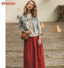 FM rode katoen Hettie rok