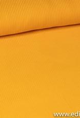 FM tricot geribbeld geel