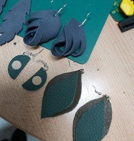 Kinderworkshop Lederen oorbellen maken
