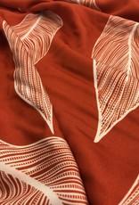 oranje grote bladeren