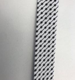 zwartwit print biais
