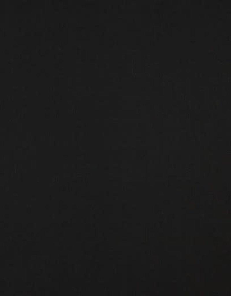 zwart effen katoen